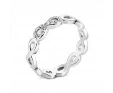 Серебряное кольцо с фианитом (К2Ф/480)