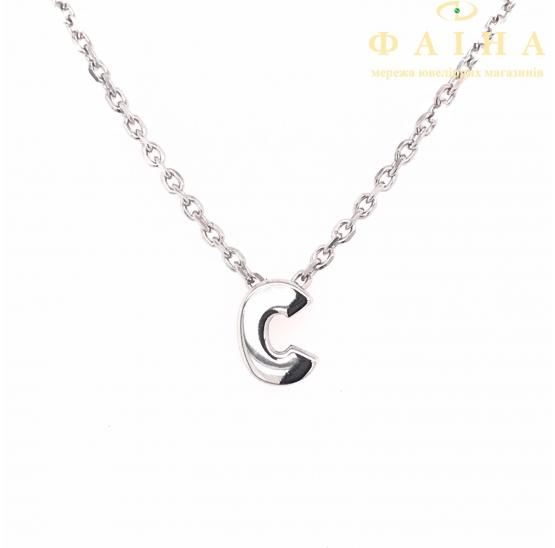 Серебряная цепь-колье (861120) - 1