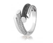 Серебряное кольцо с фианитом (2674,3)