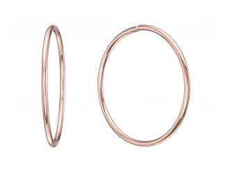 Золотые серьги-кольца (1-5004.0.0)