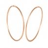 Золотые серьги-кольца (1-5008.0.0) - 1