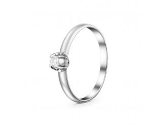 Золотое кольцо с бриллиантом (1323)
