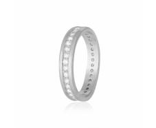 Серебряное кольцо с фианитом (КК2Ф/219)