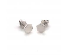 Серебряные серьги-пуссеты (т261617)