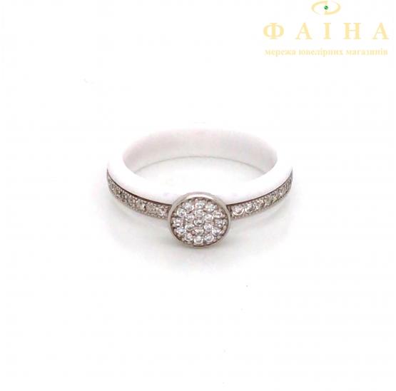 Серебряное кольцо (1629б024) - 1