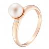 Золотое кольцо с жемчугом (1191008101) - 1
