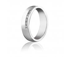 Золотое обручальное кольцо с бриллиантом (Д-15б)