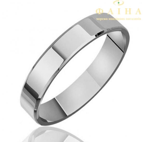 Золотое обручальное кольцо (КОА140/1) - 1