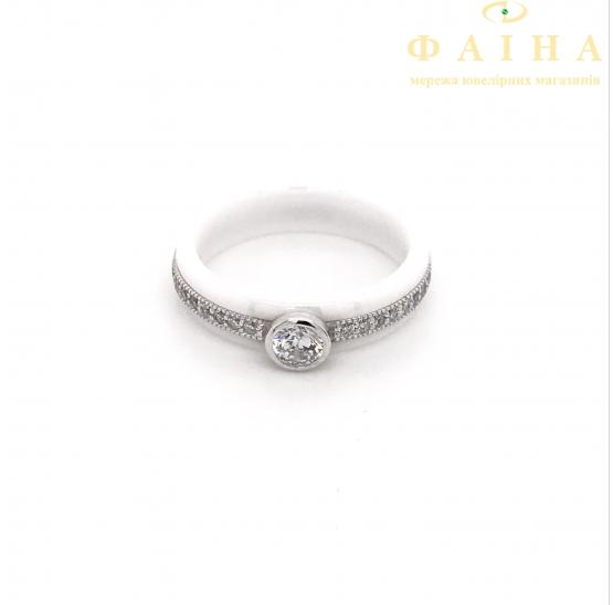Серебряное кольцо (1629б023) - 1