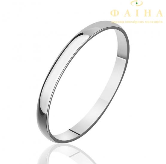 Золотое обручальное кольцо (КО025/1) - 1