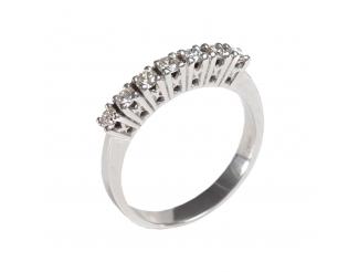 Золотое кольцо с бриллиантом (А79Фб)