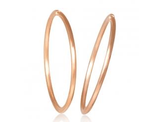 Золотые серьги-кольца (1-5003.0.0)