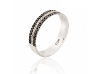 Золотое кольцо с бриллиантом (1103527202)