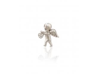 Серебряный кулон с фианитом (П2Ф/1096)