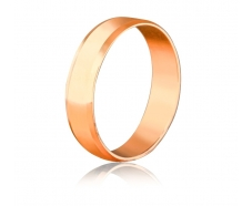 Золотое обручальное кольцо (42s)