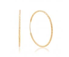 Золотые серьги-кольца (001/3)