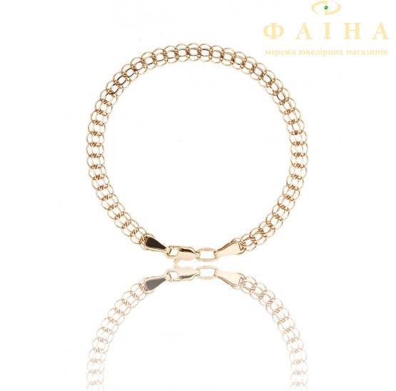 Золотой браслет (00450) - 1