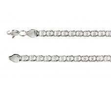 Серебряный браслет (р1703л)