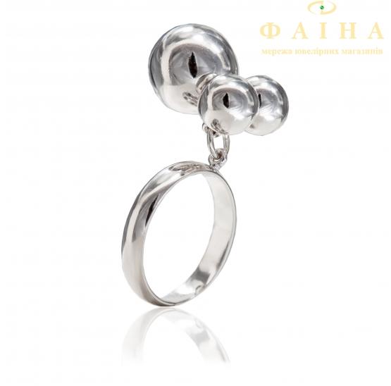 Серебряное кольцо (400098-р) - 1
