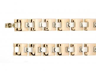 Золотой браслет (302-0051муж)