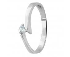Золотое кольцо с бриллиантом (25б)