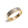 Золотое обручальное кольцо (300-0033) - 1