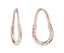Золотые серьги-кольца (1-5016.0.1)