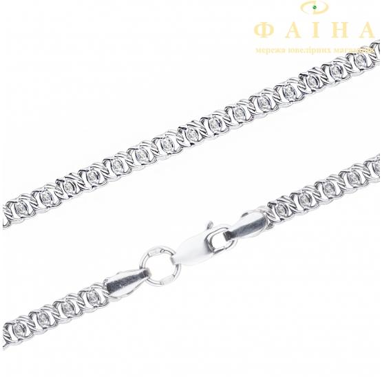 Серебряный браслет (р1703с) - 1