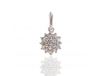 Золотой кулон с бриллиантом (3191504202)
