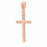 Золотой крест с фианитом (3118017) - 1
