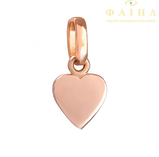 Золотой кулон (ку2061) - 2
