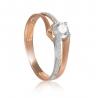 Золотое помолвочное кольцо (700021-СВ) - 1