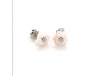 Серебряные серьги-пуссеты (2629б095)