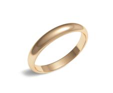 Золотое обручальное кольцо (100-0930)