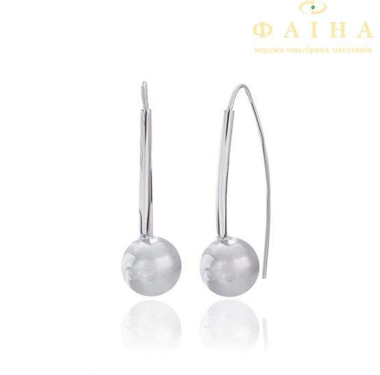 Серебрянные серьги (С2/235) - 1