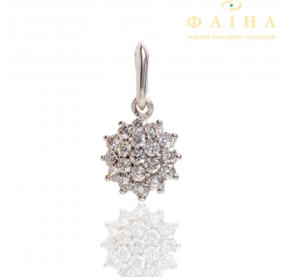 Золотой кулон с бриллиантом (3191504202) - 1