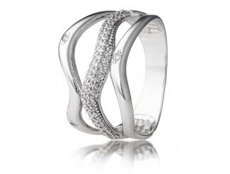 Серебряное кольцо с фианитом (2654,1)