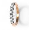 Золотое кольцо с бриллиантом (12052) - 1