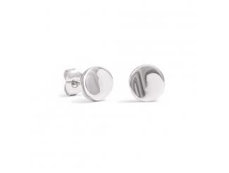 Серебряные серьги-пуссеты (70482)