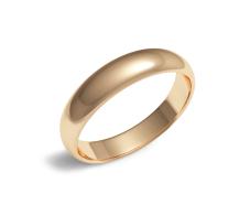 Золотое обручальное кольцо (100-0940)