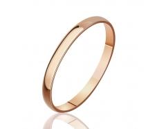 Золотое обручальное кольцо (КО025)