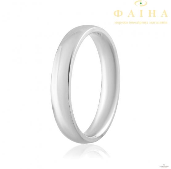 Золотое обручальное кольцо (КО035/1с) - 1