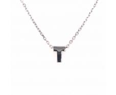 Серебряная цепь-колье (861123)
