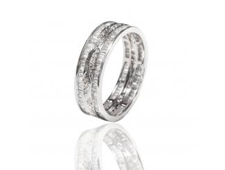 Золотое обручальное кольцо с бриллиантом (АR108-БК)