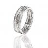 Золотое обручальное кольцо с бриллиантом (АR108-БК) - 1