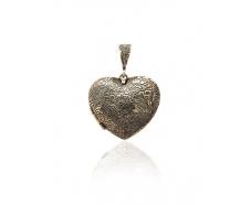 Серебряный кулон (Сердце)
