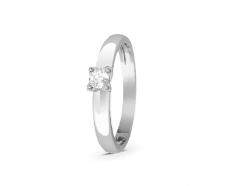 Золотое кольцо с бриллиантом (1259)