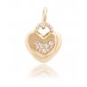 Золотой кулон с фианитом (3102435101) - 1