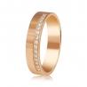Золотое обручальное кольцо с бриллиантом (КОА7137) - 1