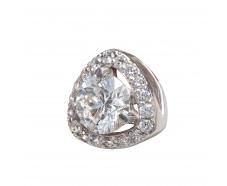 Золотой кулон с бриллиантом (33445б)